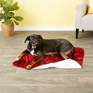 American Kennel Club Micro Sherpa Pet Blanket, Red