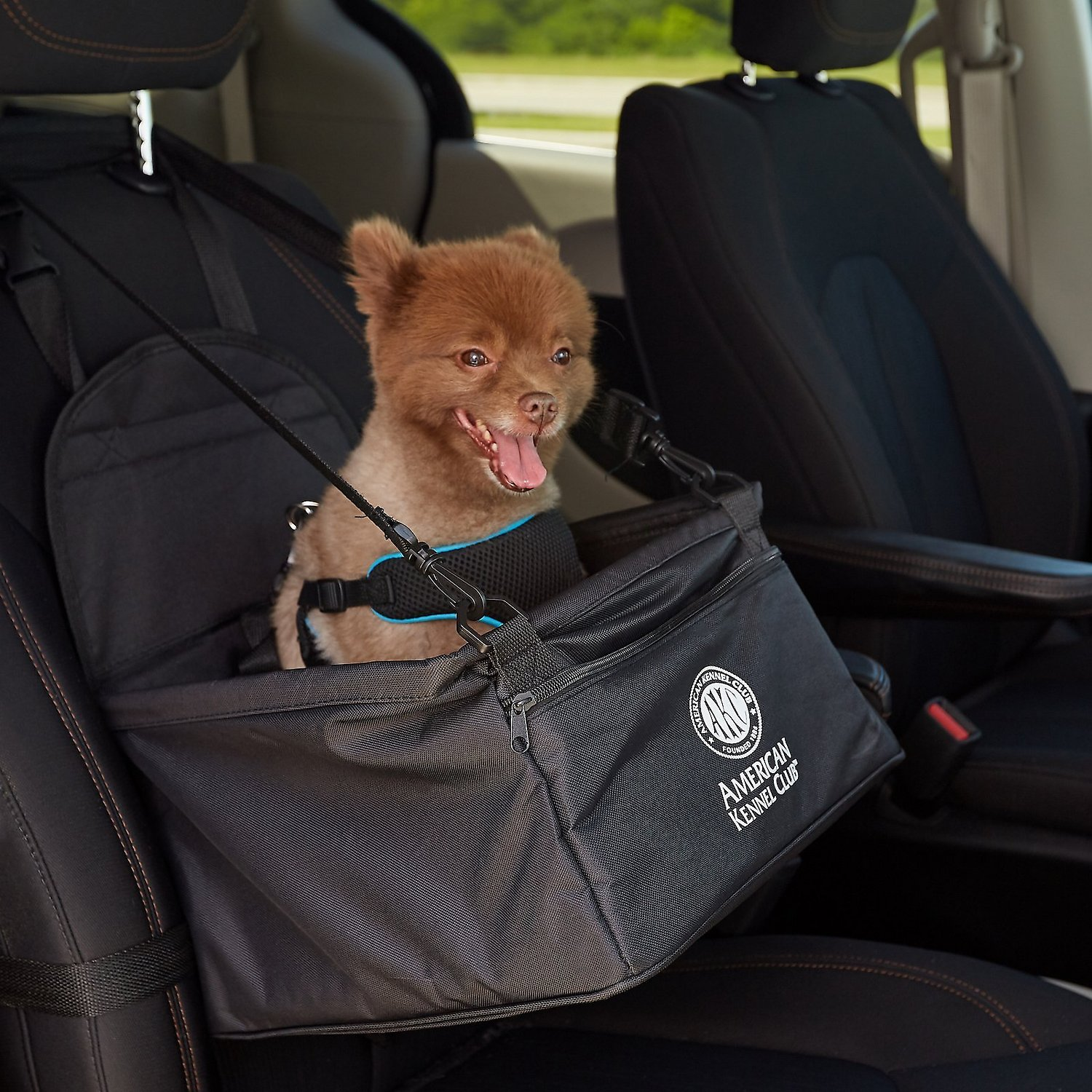 Awe Inspiring American Kennel Club Pet Booster Seat Black Alphanode Cool Chair Designs And Ideas Alphanodeonline