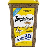 Temptations Tasty Chicken Flavor Cat Treats, 30-oz tub