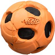 Nerf Dog Bash Crunch Ball Dog Toy, Large