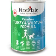 FirstMate 50/50 Turkey & Tuna Formula Grain-Free Canned Dog Food, 12.2-oz, case of 12
