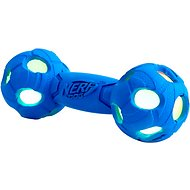 Nerf Dog Light Up LED Barbell Dog Toy, Medium