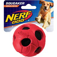 Nerf Dog Squeaker Ball Dog Toy, Medium