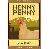 Henny Penny Layer Blend Chicken Food, 8-lb bag