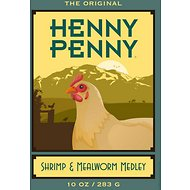 Henny Penny Shrimp & Mealworm Medley Chicken Food, 10-oz bag