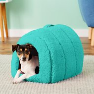 Best Friends by Sheri Igloo Pet Bed, Teal