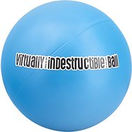 The Virtually Indestructible Ball Dog Toy, Color Varies, 6-in