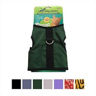 Kitty Holster Cat Harness, Hunter Green, Small/Medium
