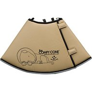 Comfy Cone E-Collar for Dogs & Cats, Tan, Large