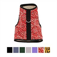 Kitty Holster Cat Harness, Blazin Red Bandana, Small/Medium