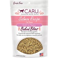 Caru Soft 'n Tasty Baked Bites Salmon Recipe Grain-Free Cat Treats, 3-oz bag