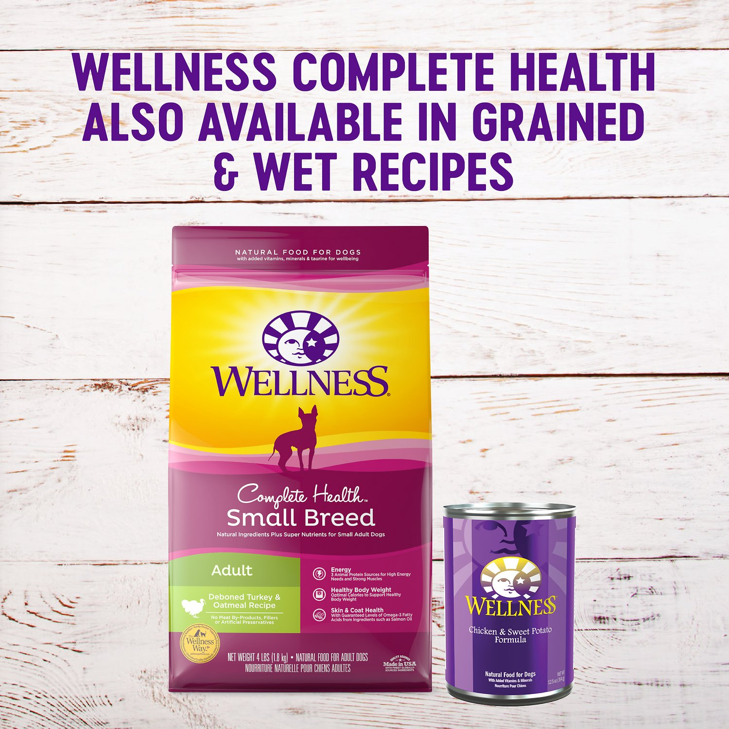 Wellness Grain Free Complete Health Small Breed Adult
