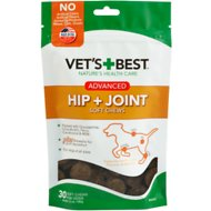 Vet's Best Advanced Hip + Joint Soft Chews Dog Supplement, 30 count