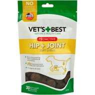Vet's Best Proactive Hip + Joint Soft Chews Dog Supplement, 30 count