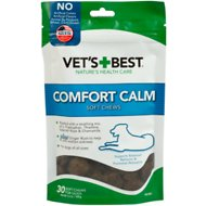 Vet's Best Comfort Calm Soft Chews Dog Supplement, 30 count