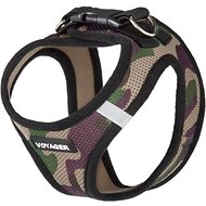 Best Pet Supplies Voyager Army Base Mesh Dog Harness, Medium