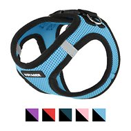 Best Pet Supplies Voyager Black Trim Mesh Dog Harness, Baby Blue, X-Small