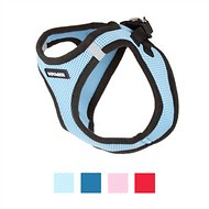 Best Pet Supplies Voyager Black Trim Mesh Dog Harness, Baby Blue, Small