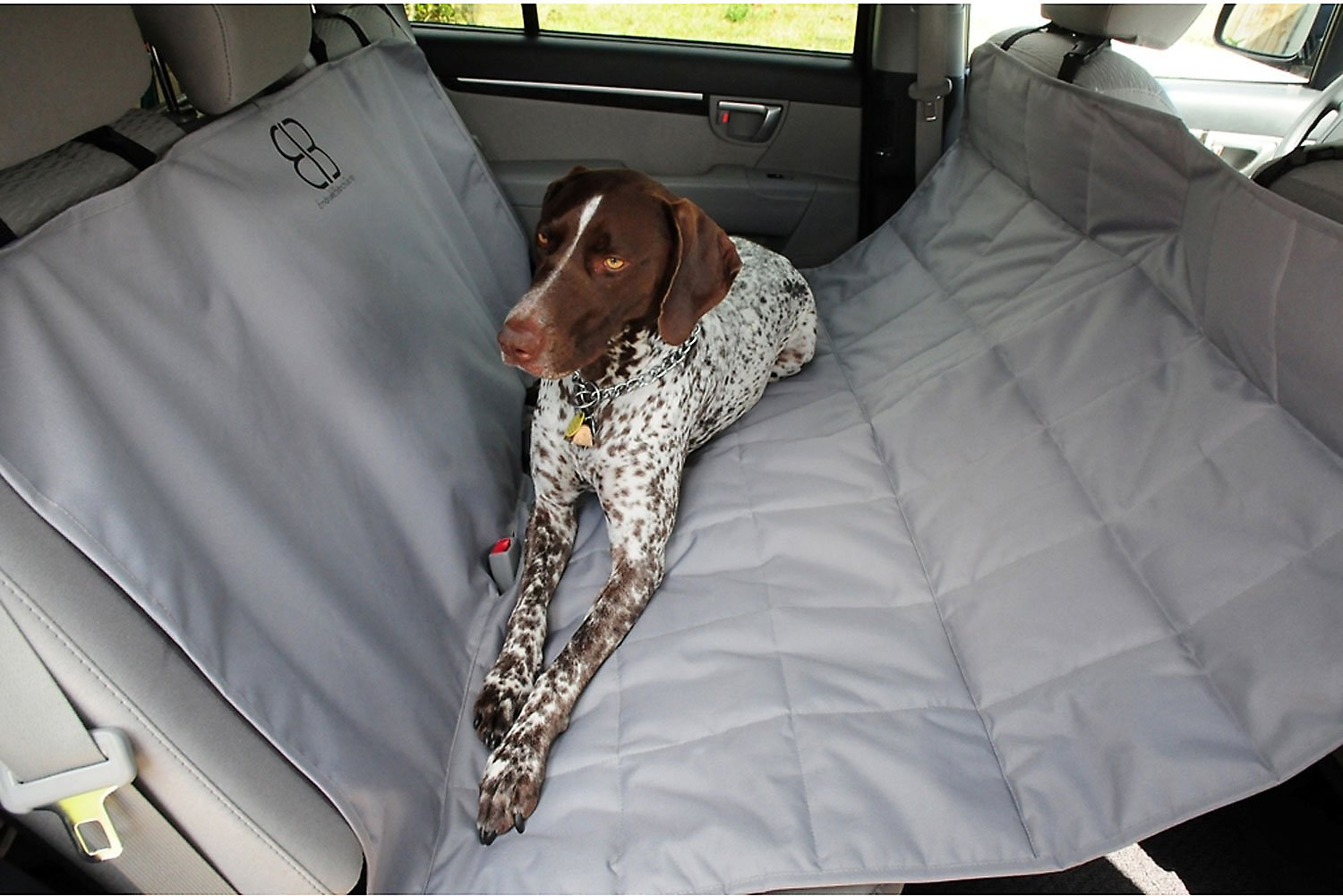 Petego Hammock Bench Seat Protector Gray X Large Chewy Com