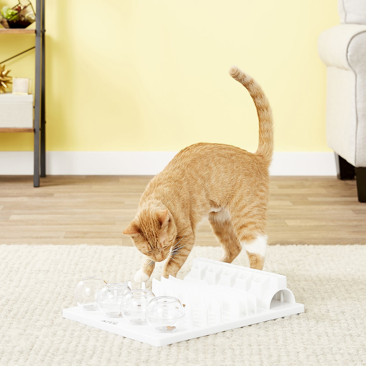 TRIXIE Activity Fun Board 5-in-1 Activity Strategy Game Cat Toy By TRIXIE