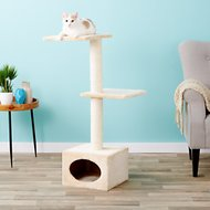 Trixie Badalona 42.75-in Cat Tree & Scratching Post, Beige