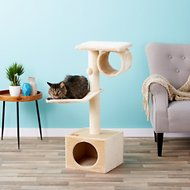 Trixie San Fernando 41.5-in Cat Tree & Scratching Post, Beige
