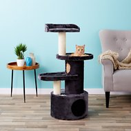 Trixie Oviedo 41.25-in Cat Tree & Scratching Post, Gray