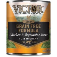 Victor Grain-Free Chicken & Vegetables Entree in Gravy Canned Dog Food