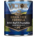Victor Grain-Free Beef & Vegetables Entree in Gravy Canned Dog Food