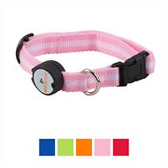 Nite Beams LED Pet Collar, Pink, Small