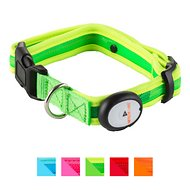 Nite Beams LED Pet Collar, Green, Medium