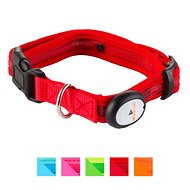 Nite Beams LED Pet Collar, Red, Large