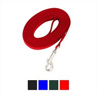 Guardian Gear Cotton Web Training Dog Lead, Red, 15-ft