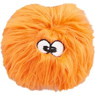 GoDog Just for Me Chew Guard FurBallz Dog Toy, Orange