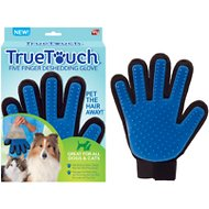 As Seen on TV True Touch Five Finger Pet Deshedding Glove