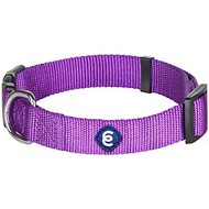 Blueberry Pet Classic Solid Dog Collar, Dark Orchid, Medium