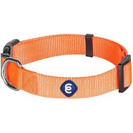 Blueberry Pet Classic Solid Dog Collar, Florence Orange, Large