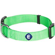 Blueberry Pet Classic Solid Dog Collar, Neon Green, Large