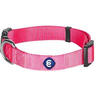 Blueberry Pet Classic Solid Nylon Dog Collar, French Pink, Large: 18 to 26-in neck, 1-in wide