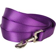 Blueberry Pet Classic Solid Dog Leash, Dark Orchid, 5-ft, 3/8-in