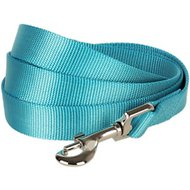 Blueberry Pet Classic Solid Dog Leash, Turquoise, 5-ft, 3/4-in