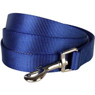 Blueberry Pet Classic Solid Dog Leash, Royal Blue, 4-ft, 1-in