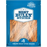 "Best Bully Sticks 5"" Beef Tripe Twists Dog Treats, 25 count"