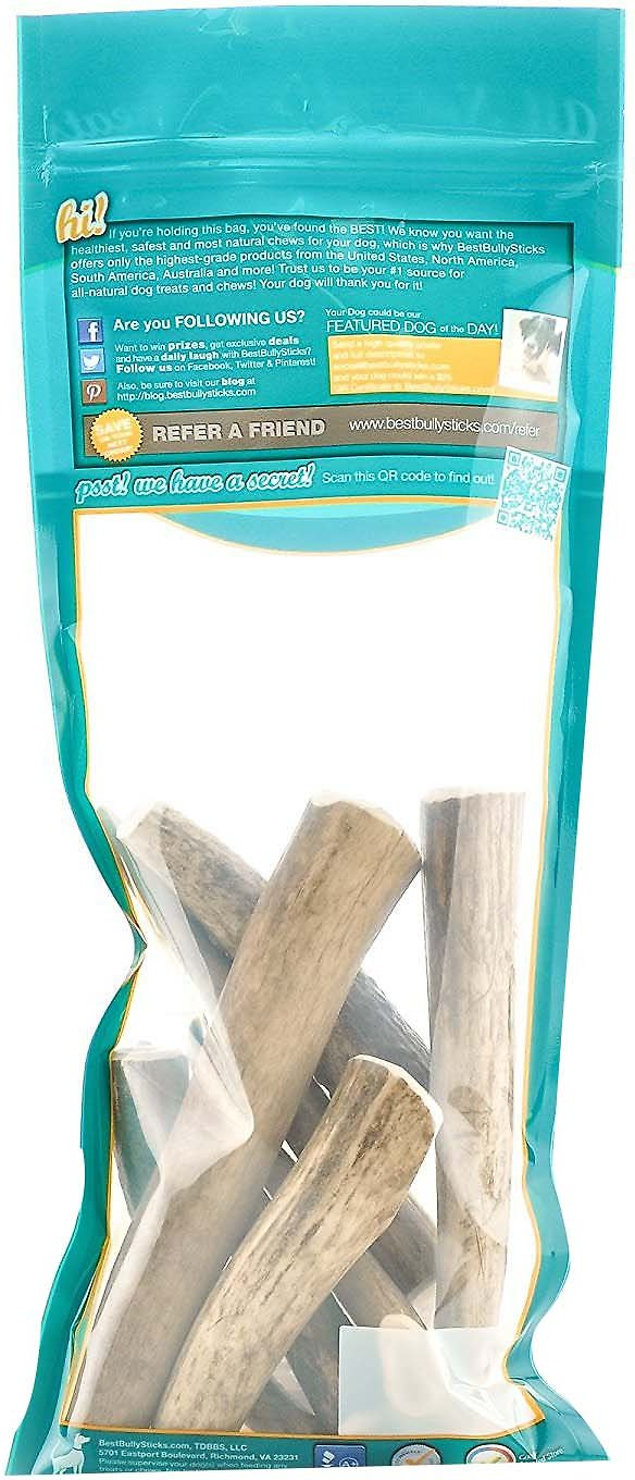 best bully sticks elk antlers dog chews 1 lb bag. Black Bedroom Furniture Sets. Home Design Ideas