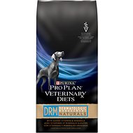 Purina Pro Plan Veterinary Diets DRM Dermatologic Management Naturals Formula Dry Dog Food, 25-lb bag