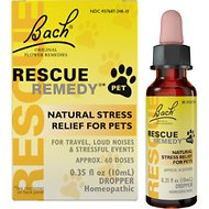 Rescue Remedy Stress Relief Pet Supplement, 10-mL bottle