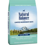 Natural Balance L.I.D. Limited Ingredient Diets Chicken & Sweet Potato Formula Grain-Free Dry Dog Food, 26-lb bag