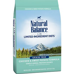 Natural Balance L.I.D. Limited Ingredient Diets Chicken & Sweet Potato Formula Grain-Free Dry Dog Food