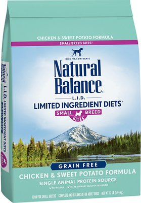 3. Natural Balance L.I.D. Limited Ingredient Diets