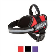 Doggie Stylz Service Dog Harness, Red, XX-Small